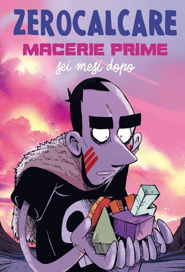 La copertina della seconda parte del fumetto Macerie prime