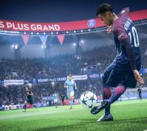 Azione in campo in FIFA 19 di EA