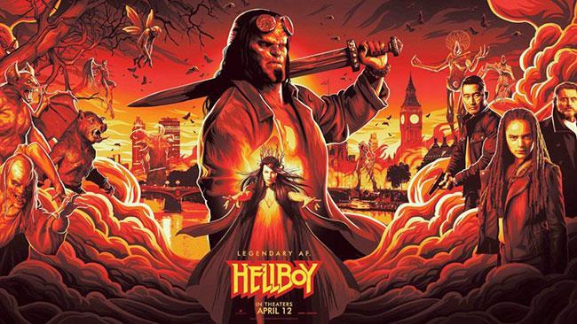 Il poster di Hellboy per il NYCC