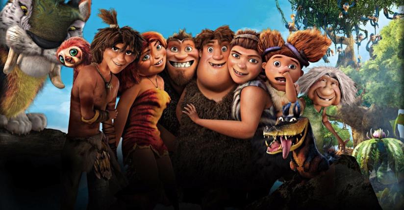 I personaggi del film I Croods