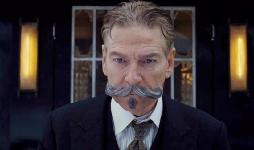 Poirot in primo piano