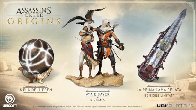 Nuove statuette ufficiali per Assassin's Creed Origins