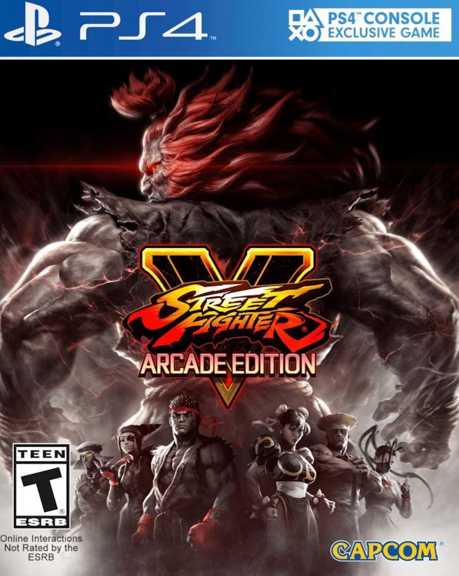 Street Fighter V: Arcade Edition in uscita a gennaio 2018