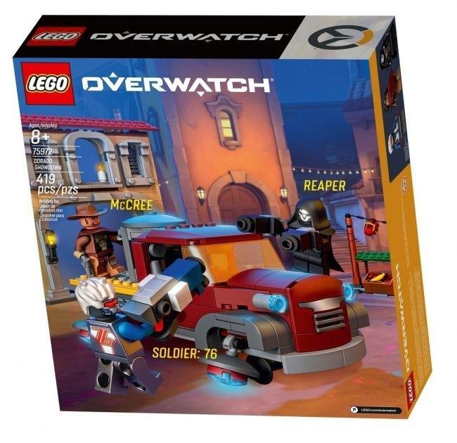 LEGO Overwatch McCree Reaper e Soldato-76