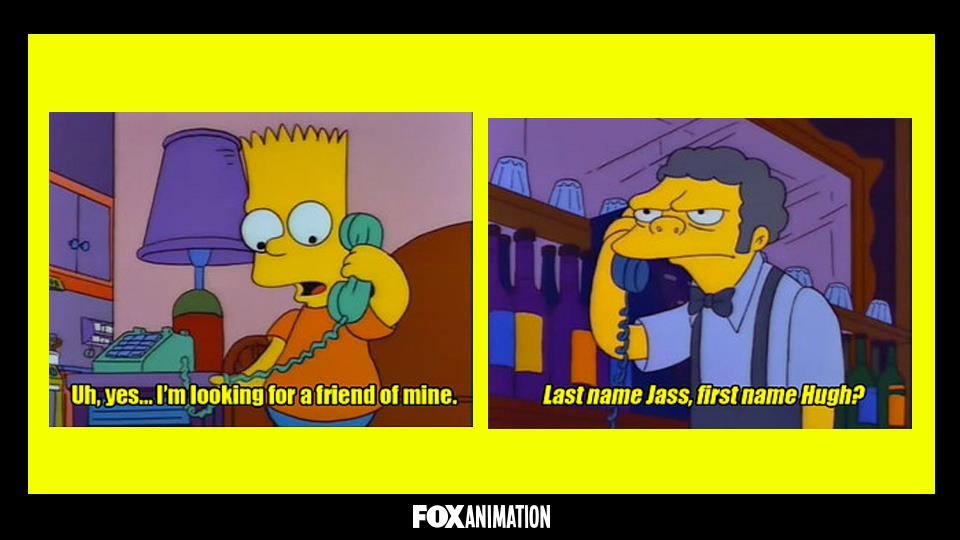 Perché Boe non riconosce mai la voce di Bart al telefono?