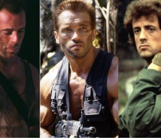 Bruce Willis, Arnold Schwarzenegger e Sylvester Stallone