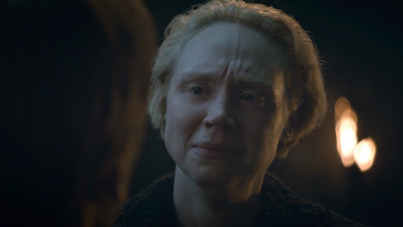 Gwendoline Christie è Brienne di Tarth