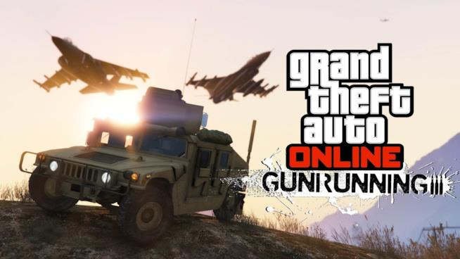 GTA Online si aggiorna a giugno con Gunrunning
