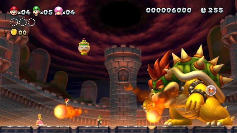 Bowser in New Super Mario Bros. U Deluxe