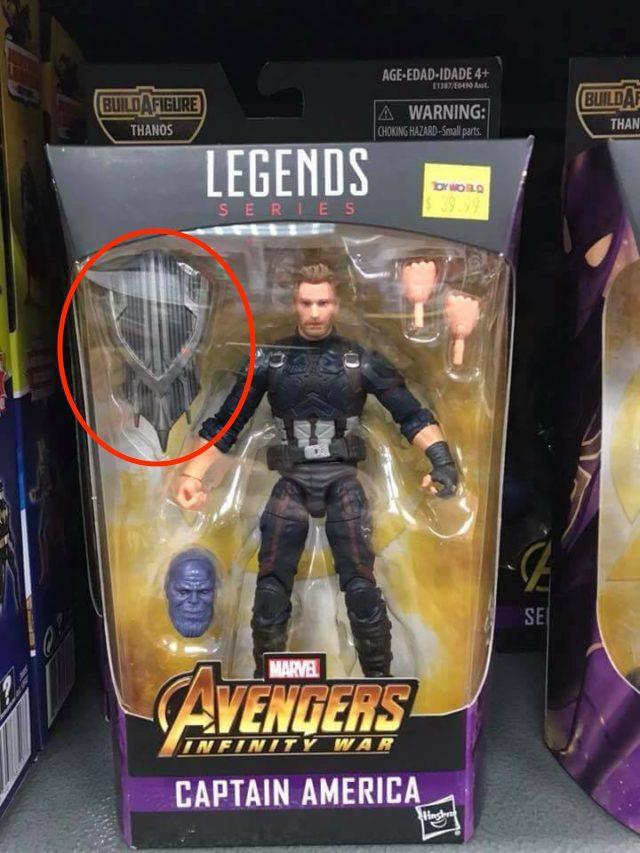 L'action figure Hasbro dedicato a Captain America