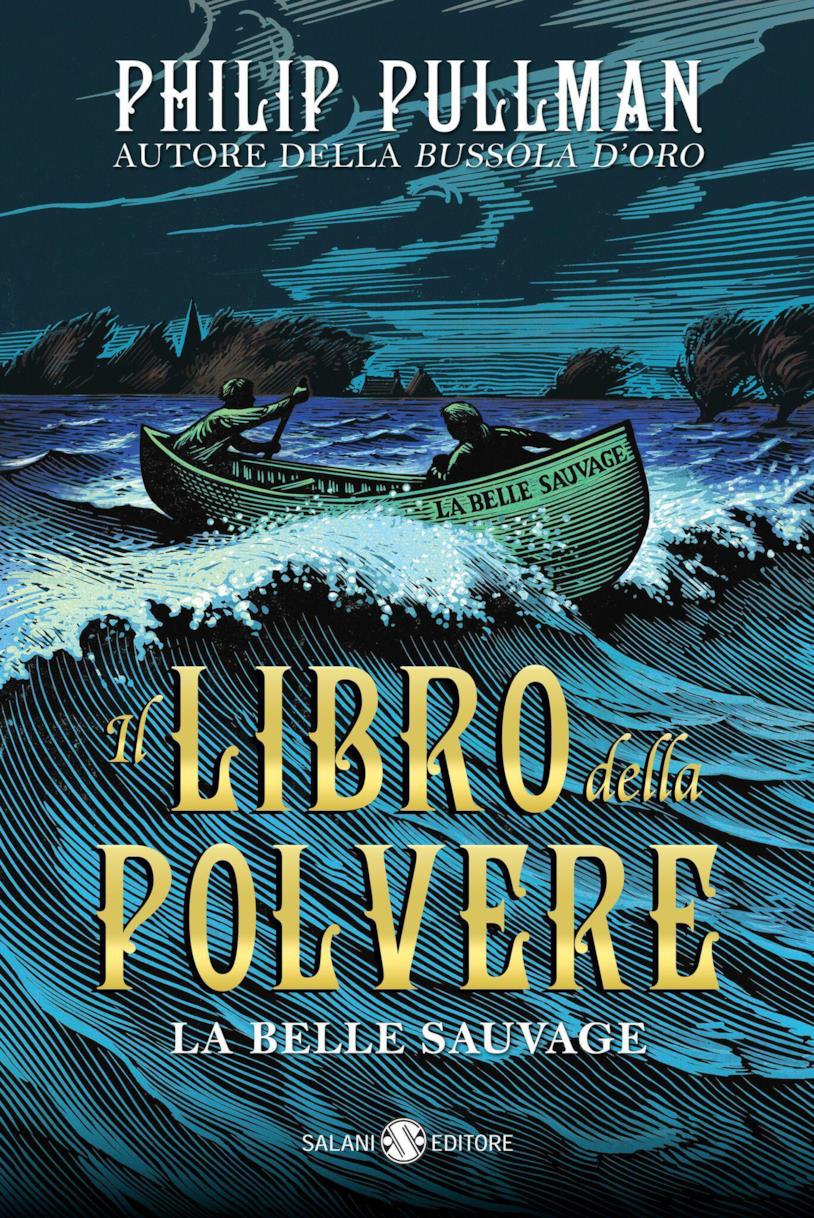 La copertina italiana de Il Libro della Polvere