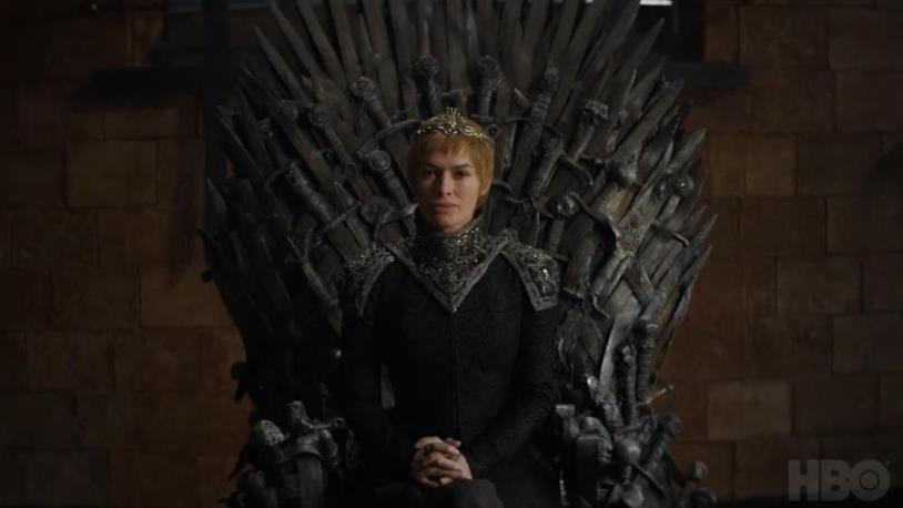 Cersei sull'Iron Throne