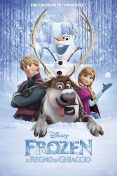 Il poster italiano di Frozen