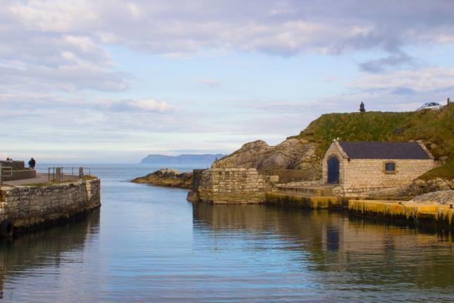 Il Porto di Ballintoy diventa una location delle Isole di Ferro