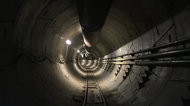 Il tunnel ad alta velocità di Elon Musk