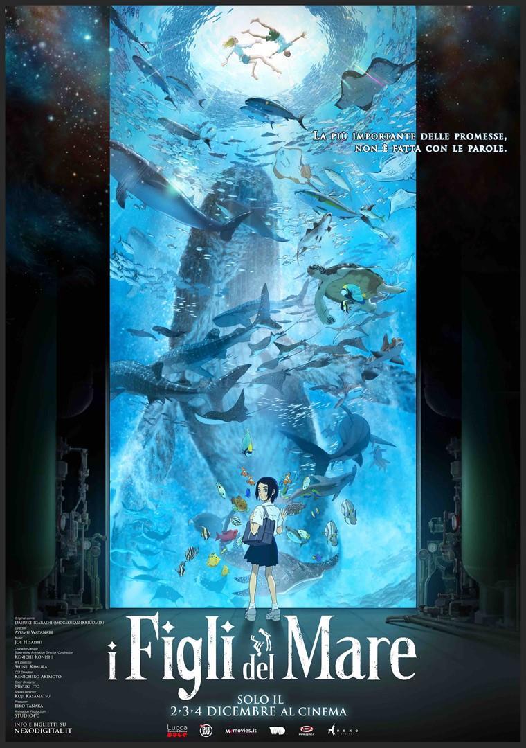 Il poster ufficiale de I figli del mare