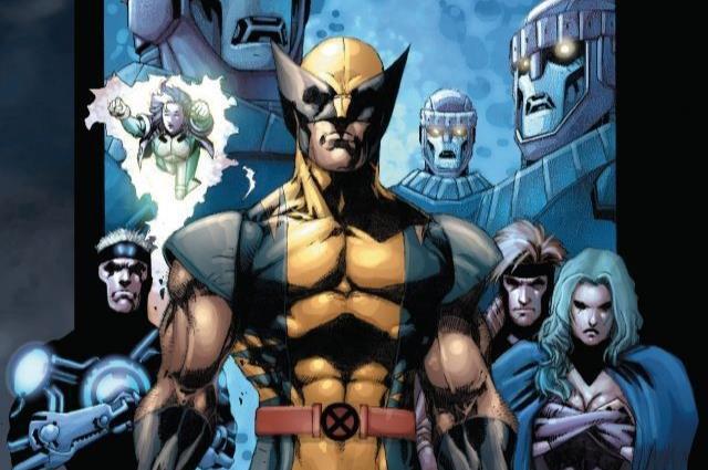 Dettaglio della cover di X-Men: Decimation - The Day After
