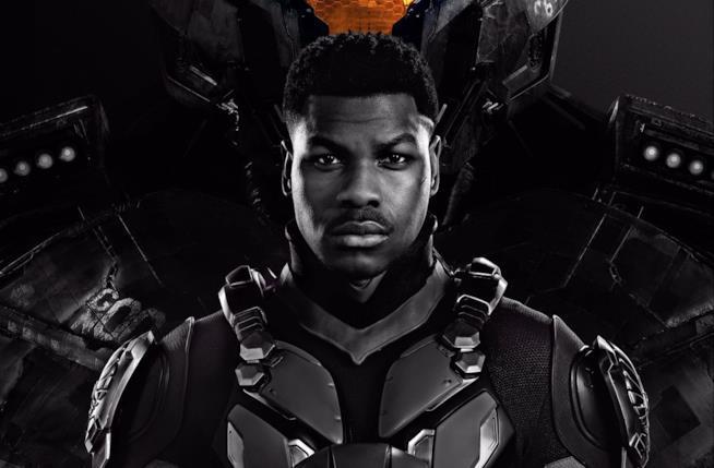 John Boyega nel poster di Pacific Rim: La Rivolta