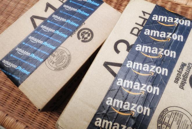 Pacchi di Amazon e Amazon Prime