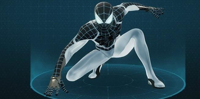 Mr. Negativo contagia un costume di Marvel's Spider-Man