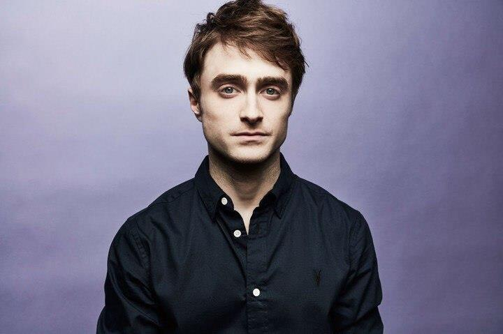 Daniel Radcliffe durante il photocall del suo nuovo film