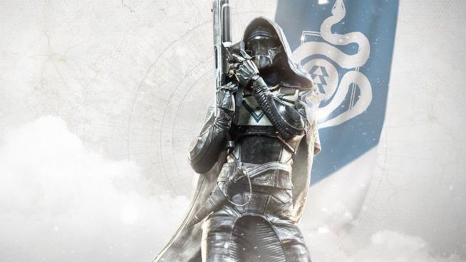 Una cacciatrice campeggia su un'immagine promozionale di Destiny 2