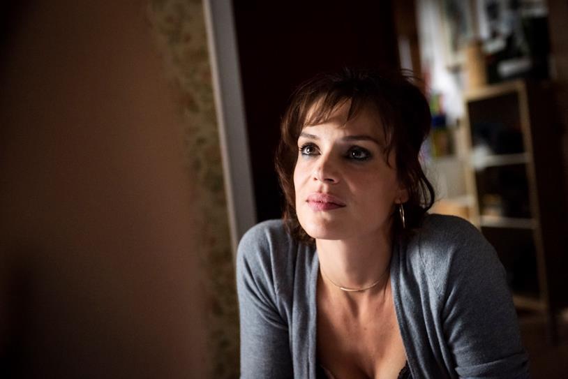 L'attrice Micaela Ramazzotti in una scena di Vivere