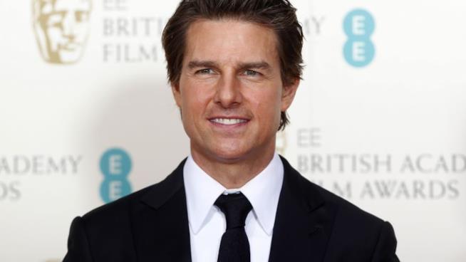 L'attore americano Tom Cruise