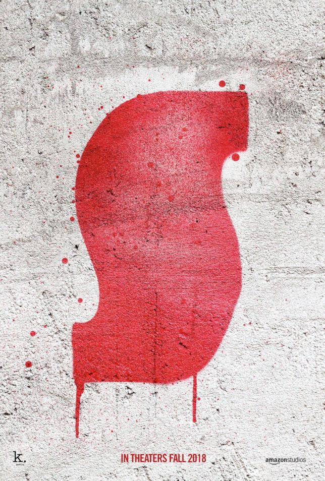 La gigantesca S sul poster ufficiale di Suspiria