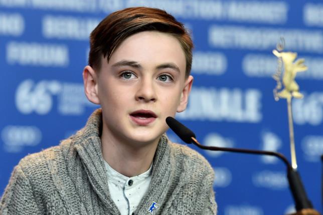 Il giovane attore Jaeden Lieberher