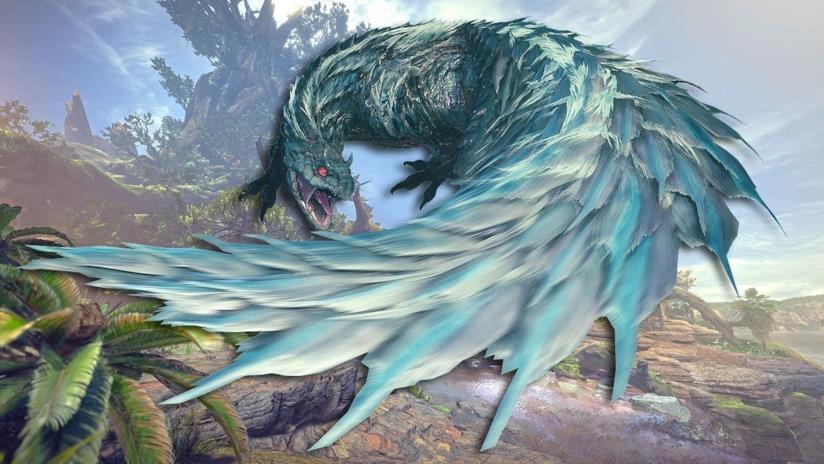 Una pericolosa creatura di Monster Hunter World