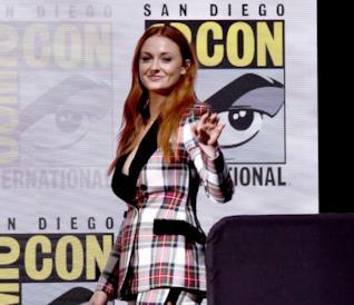 Sophie Turner al Comic-Con 2017 per Game of Thrones
