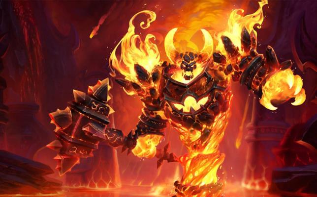 Ragnaros è il signore del fuoco creato da Blizzard