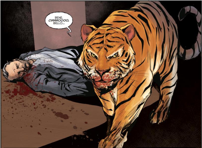 Tigre cosciente in Animosity #1