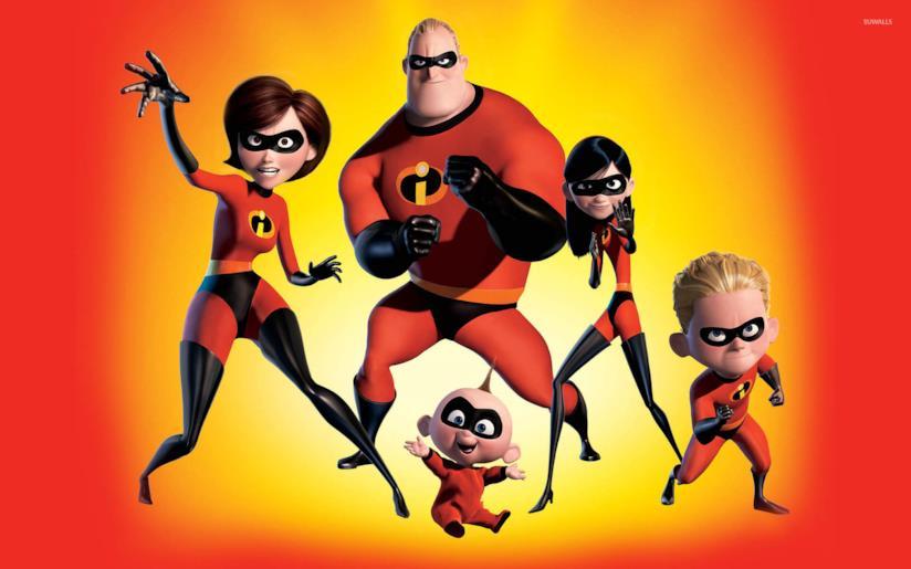 Gli incredibili una normale famiglia di supereroi movie for