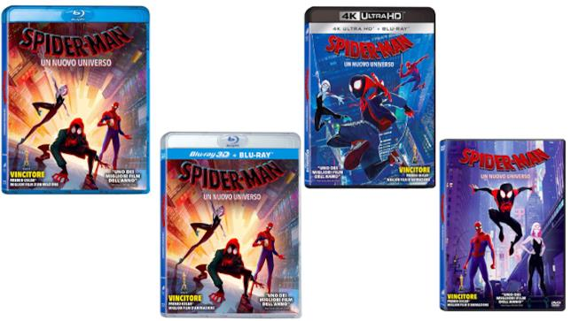 Spider-Man: Un Nuovo Universo - Home Video - DVD - Blu-ray