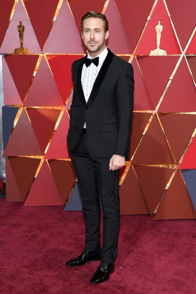 Ryan Gosling sul red carpet degli Oscar 2017