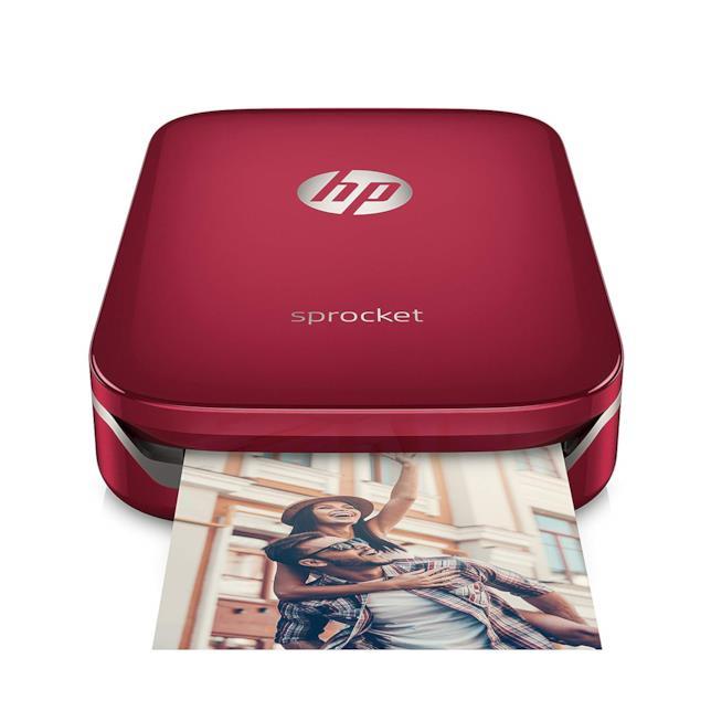 Immagine stampa della HP Sprocket in rosso