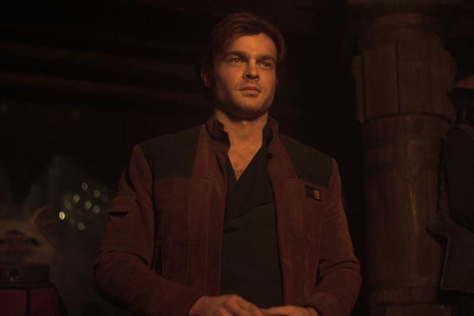 Il giovane Han Solo sorride su Numidian Prime