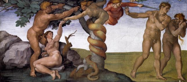 Il demone Lilith, mezza donna e mezzo serpente