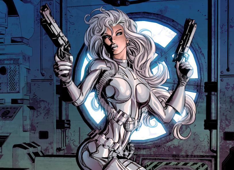 La conturbante mercenaria Silver Sable