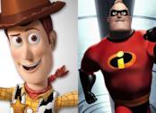 Nella foto: lo sceriffo Woody (Toy Story) e Mr. Incredible (Gli Incredibili)