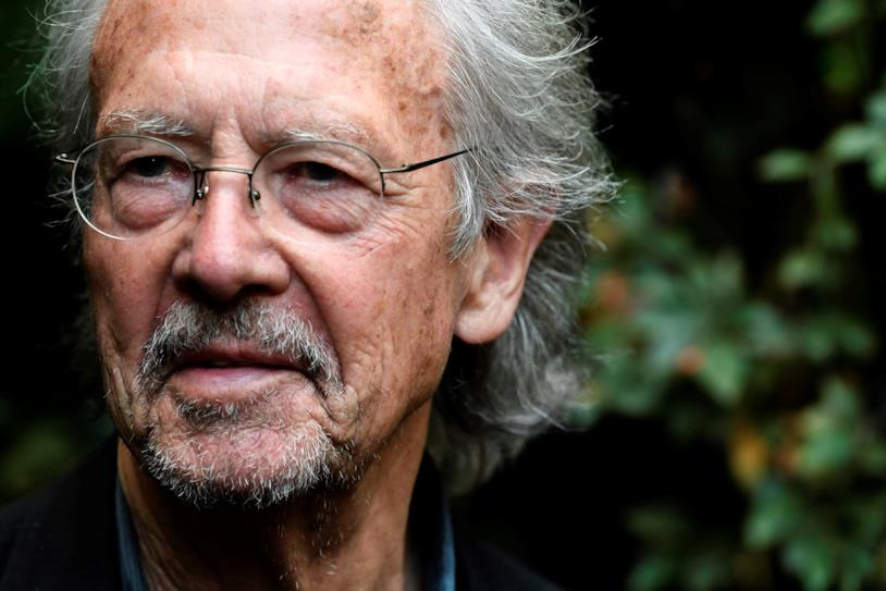 Lo scrittore Peter Handke