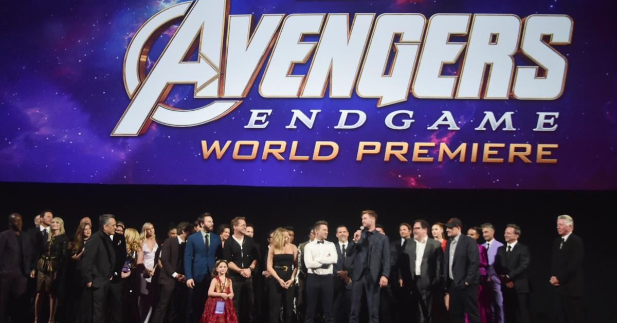 Avengers Endgame Il Cast Alla Prima Mondiale Con Le