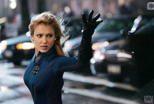 Jessica Alba ne I Fantastici 4