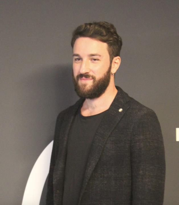 Il regista Francesco Ebbasta.