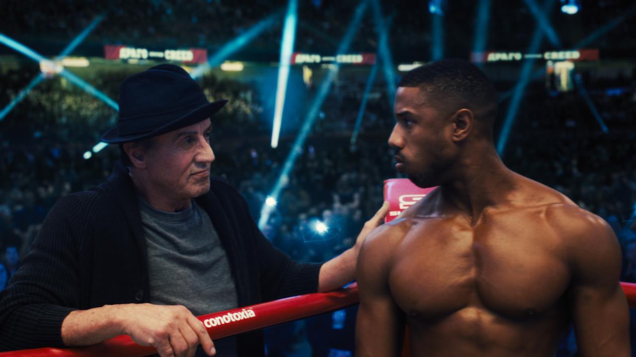 Adonis e Rocky sul ring
