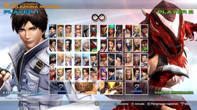 Tutti i 50 personaggi di KOF 14