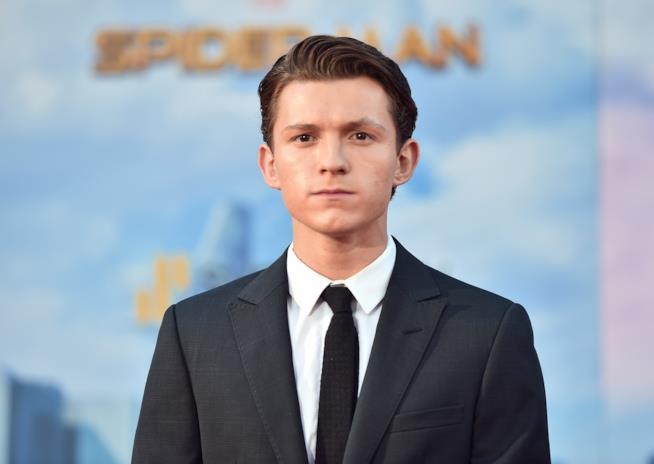 Tom Holland alla premiére di Spider-Man: Homecoming