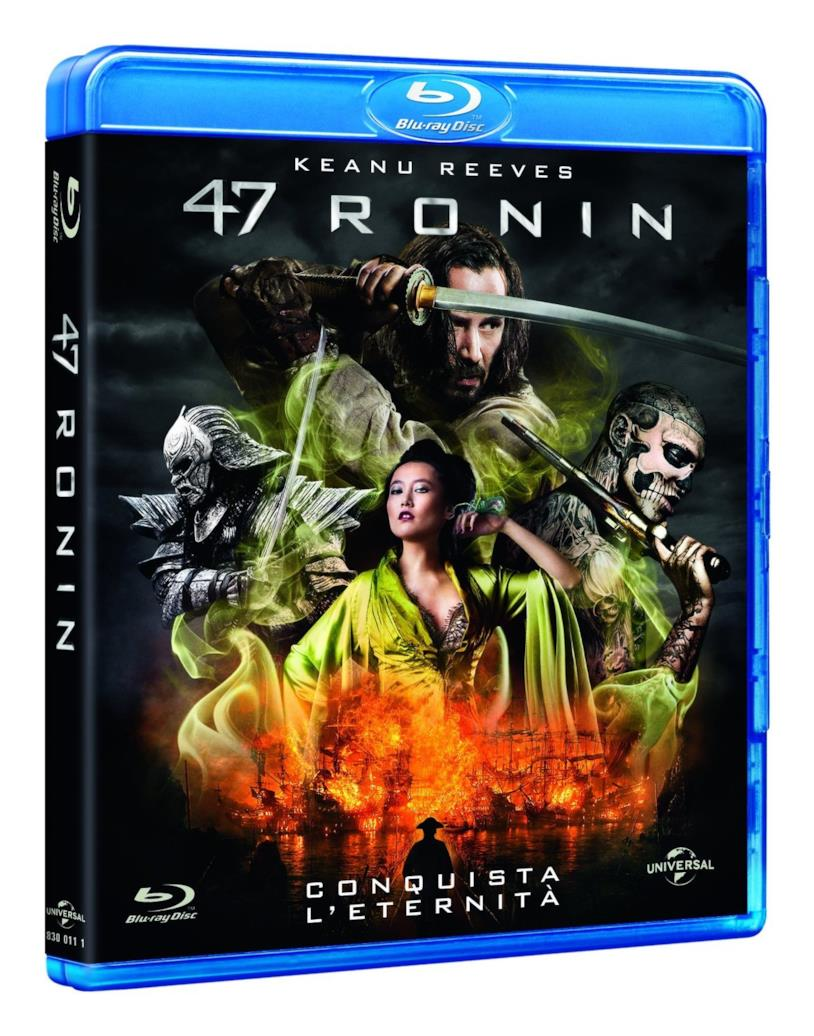 La copertina di 47 Ronin